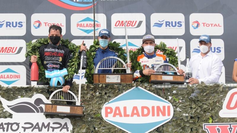 Inolvidable primera victoria para Alejo Borgiani