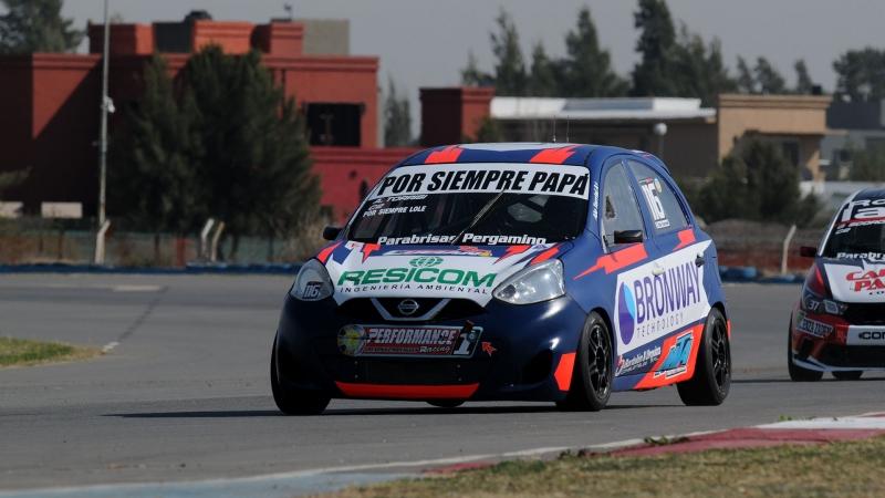 Alejandro Torrisi disfruta de la pole position