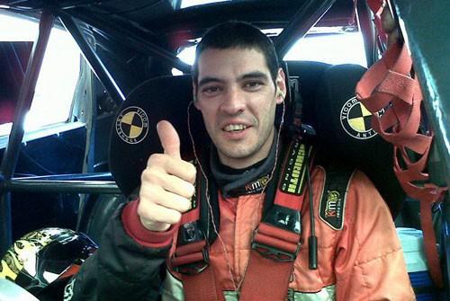 Gastón Grasso tuvo su primera prueba con el Seat León
