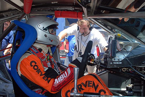 Juan Marcos Angelini probó con el Focus de Bulla Sport