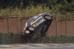 Reparaci�n r�pida para el Honda de Juli�n Flamarique