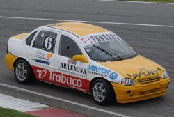 Bruno Bosio probó en La Plata