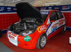 El equipo DG Motorsport con plantel completo