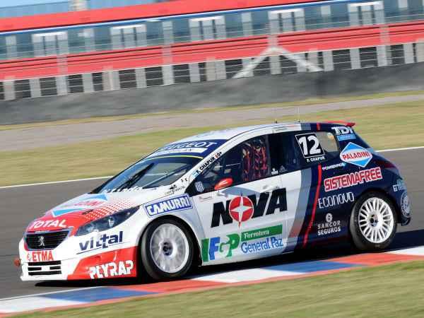 Team Peugeot Total, previo a Concordia