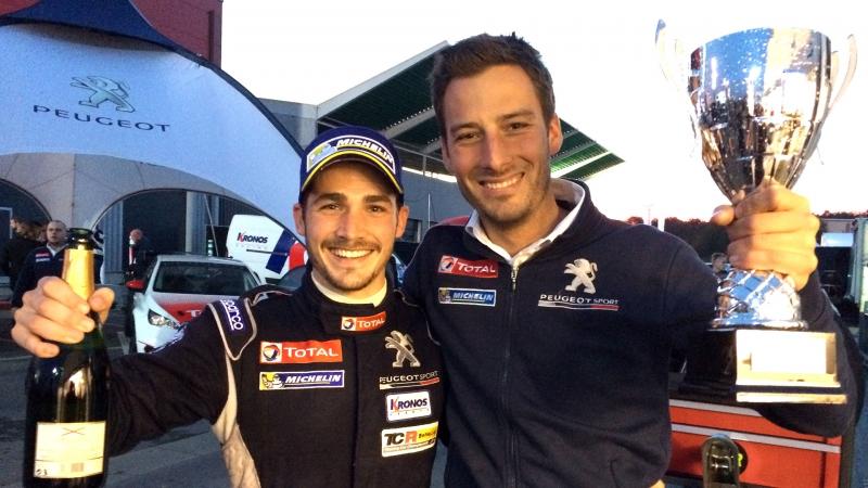 Incorporación en Team Peugeot Total