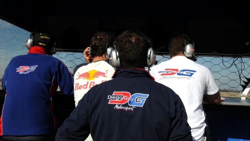 El DG Motorsport probó en Alta Gracia
