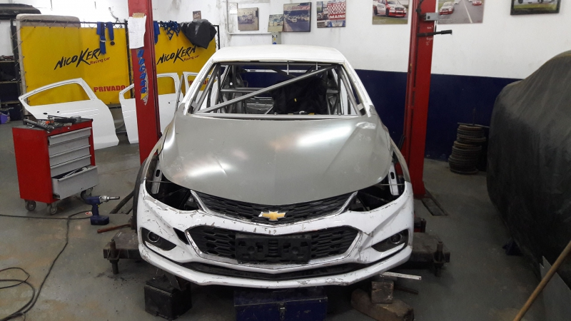 Renovaci�n en Nico Kern Racing Car
