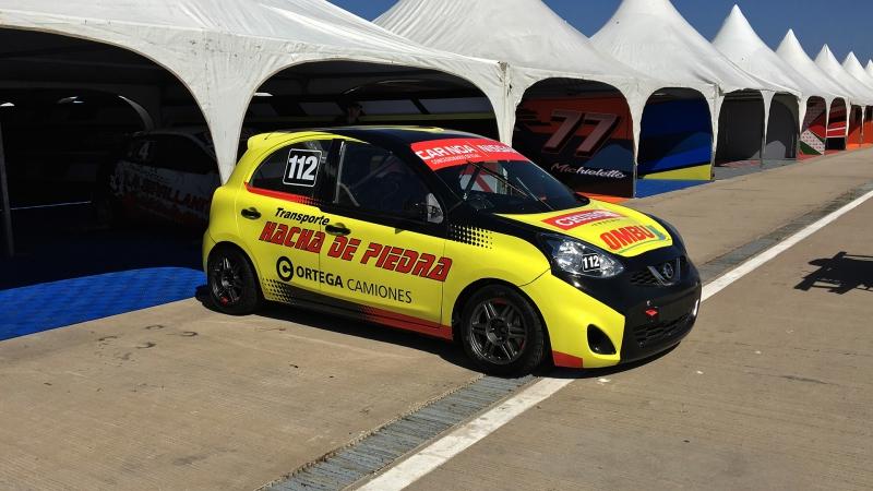 Nuevo auto para Juan Ortega