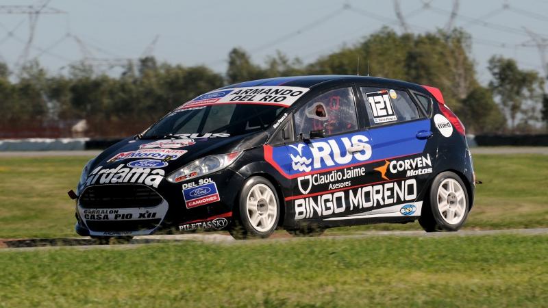 Pole position provisional de Nicolas Posco