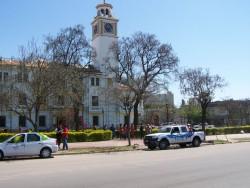 Conferencia de Prensa en la Gobernaci�n de Santiago del Estero, Prensa en Tucum�n