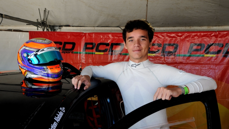 Christian Abdala, en el Gran Premio Coronación