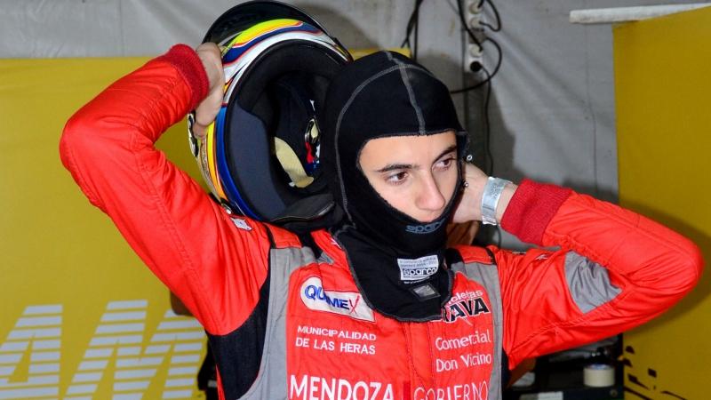 Lucas Vicino, el nuevo joven piloto del Turismo Nacional