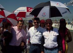 El Gobernador Gerardo Zamora asistió a la 9° fecha del TN