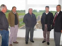Hugo Paoletti visitó el autódromo de Junín