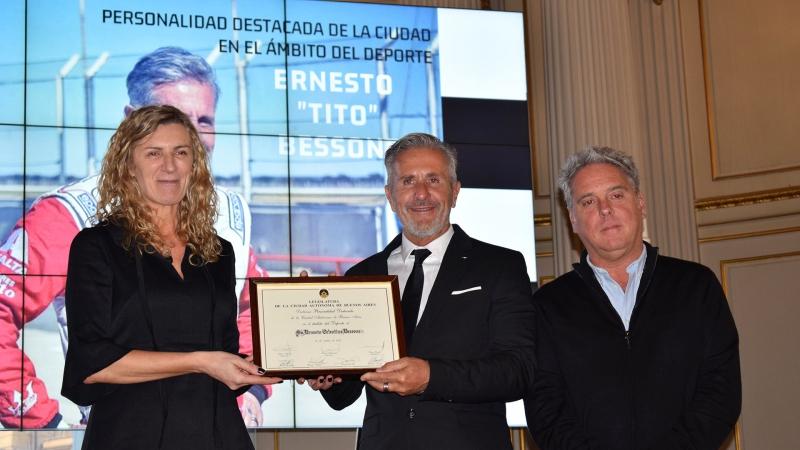 Ernesto Bessone, Personalidad Destacada del Deporte