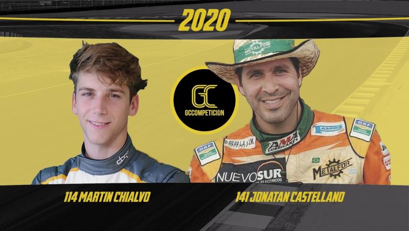 GC Competición confirmó sus pilotos