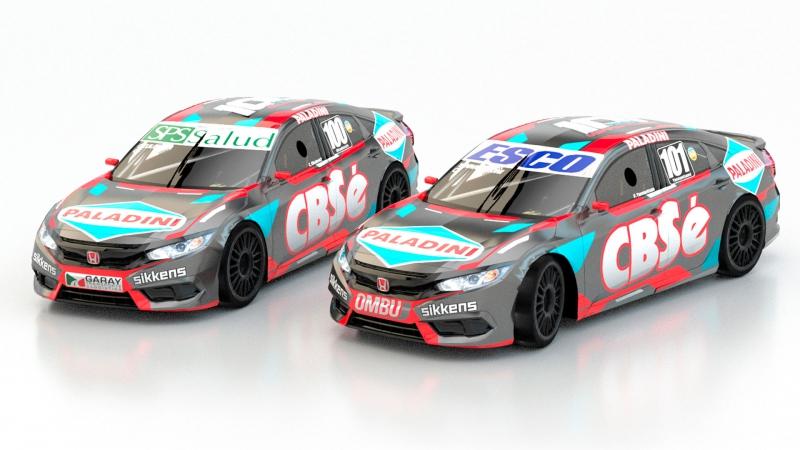 Dupla de campeones para Chetta Racing