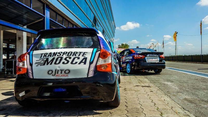 Martos Competición probó en La Plata
