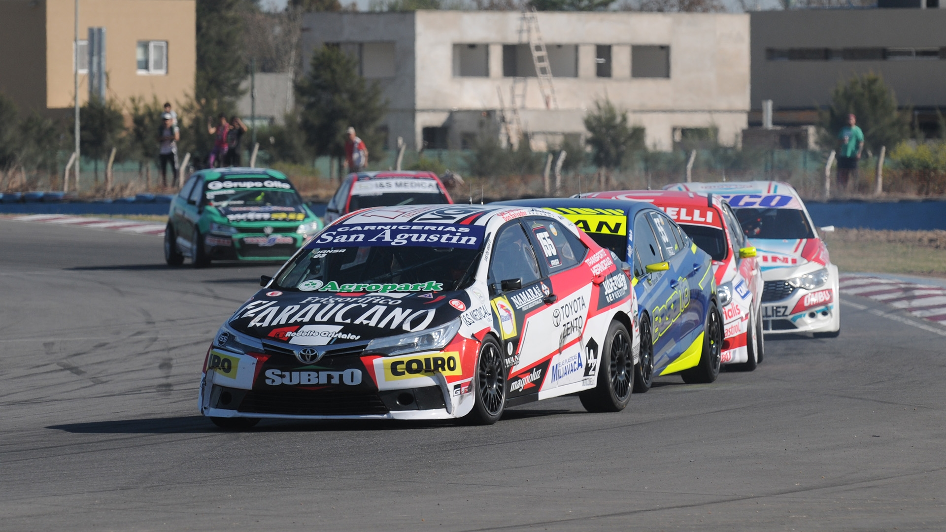 Gastón Iansa ganó la serie más veloz