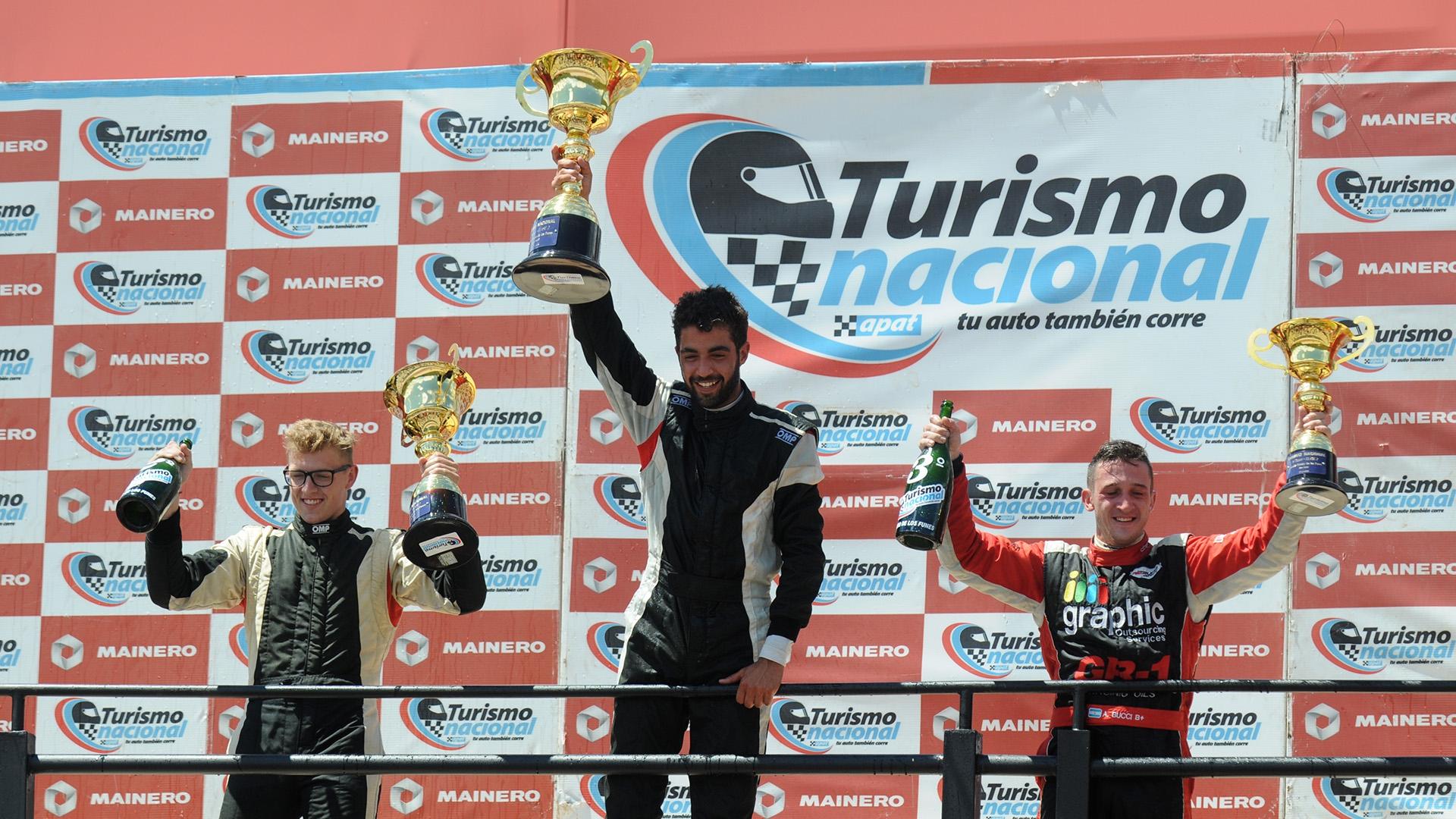 Juan Pablo Pastori debutó como ganador