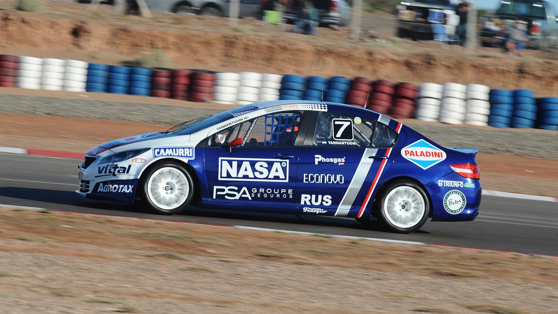 Team Peugeot Total, en Paraná