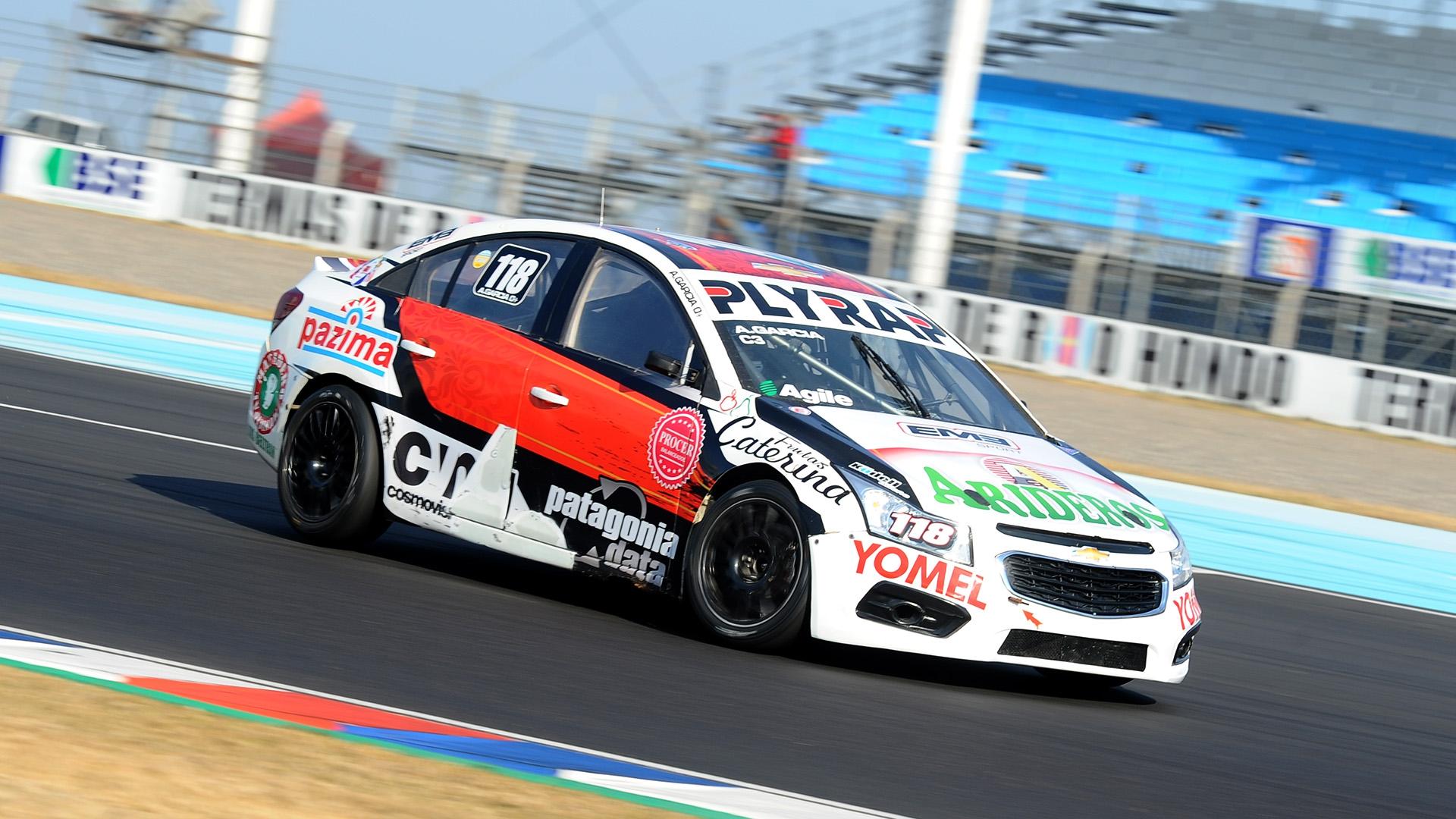 Primera pole position para Antonino García