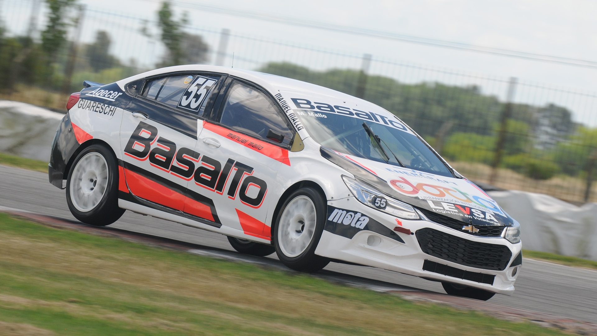 Manuel Mallo logra su primera pole position
