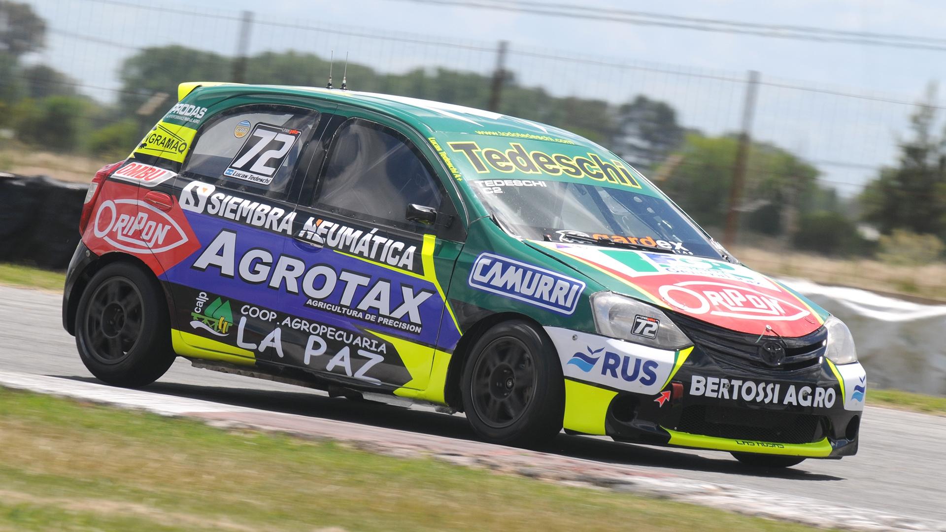 Primera pole position de Lucas Tedeschi