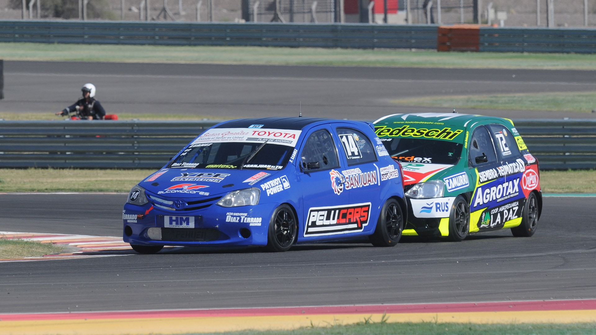 Facundo Leanez ganó la primera serie