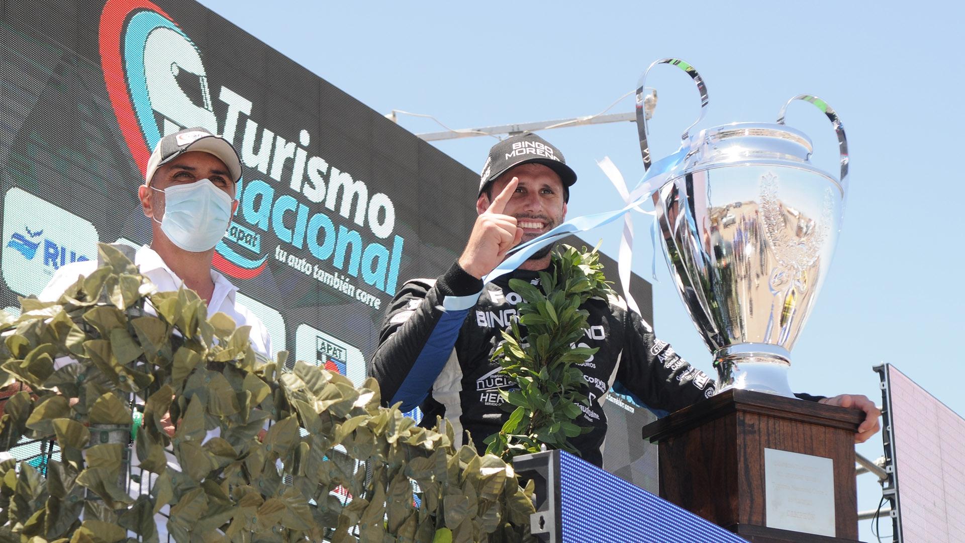 Nicolás Posco repite su condición de Campeón Argentino