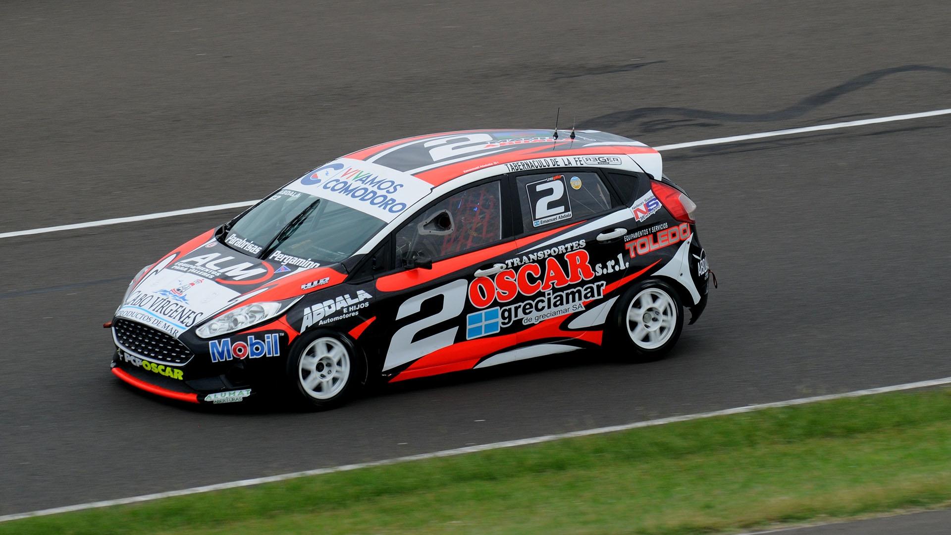 Emanuel Abdala logró su primera pole position